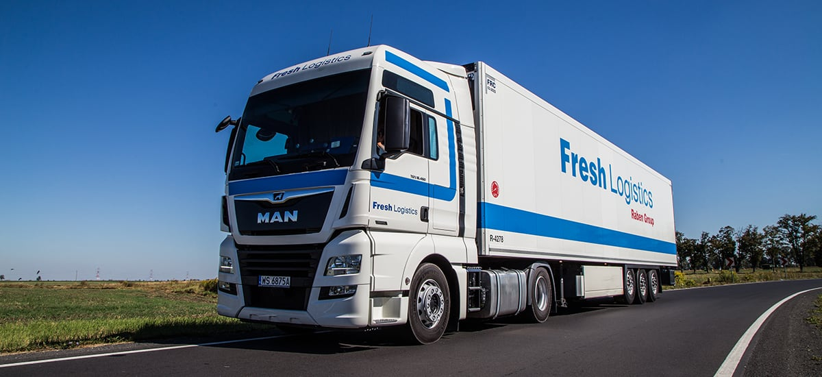 In the European Food Network, Fresh Logistics Polska, a member of Raben Group, serve Poland, Estonia, Latvia, and Lithuania.